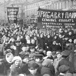 Febbraio 1917, manifestazione degli operai delle fabbriche Putilov