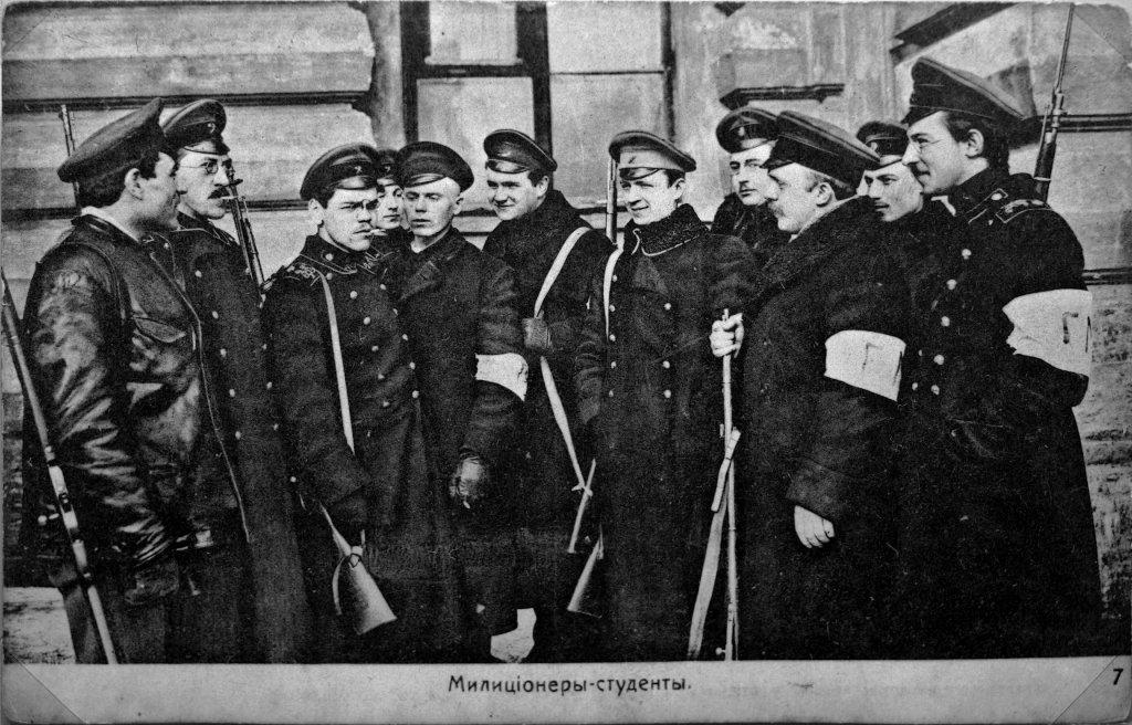 Giovani soldati rivoluzionari, Febbraio