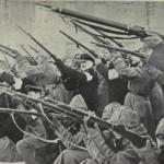 I soldati rivoluzionari attaccano un presidio di polizia