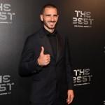 Il capitano del Milan Leonardo Bonucci è stato inserito nell'undici ideale dell'anno