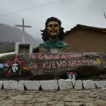 Busto del Che a La Higuera