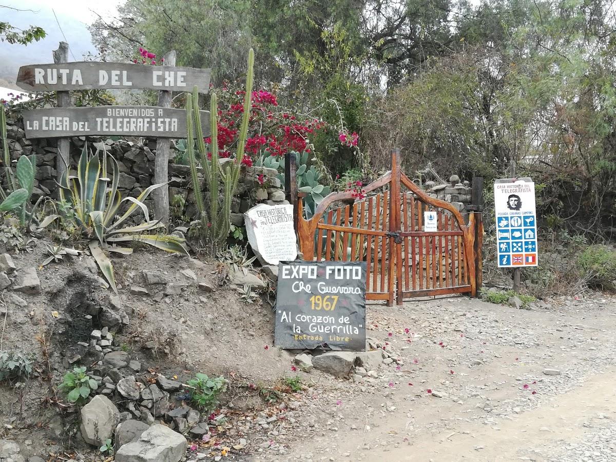 La Casa del Telegrafista. Ostello a La Higuera, in precedenza sede del telegrafo del villaggio