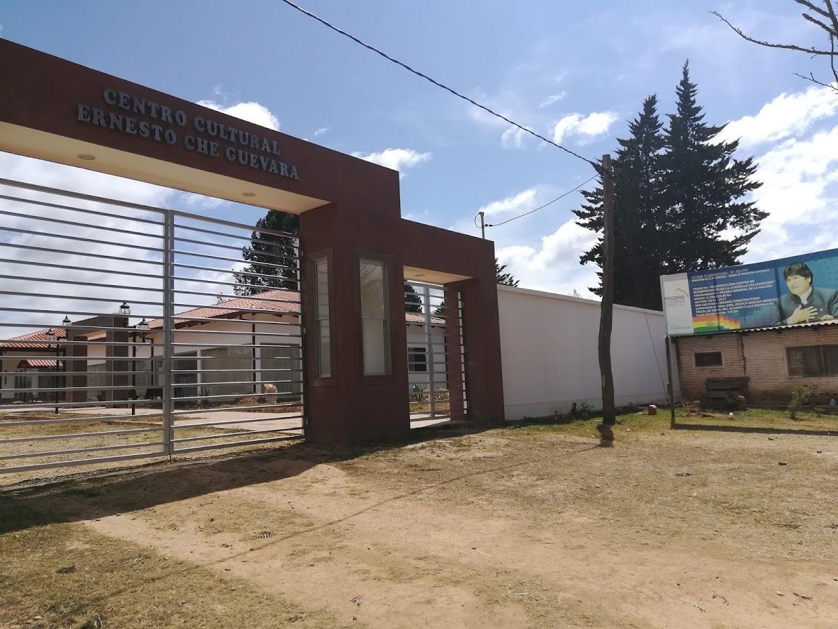 Centro Culturale Ernesto Guevara, Vallegrande. Costruito nel luogo dove fu ritrovato il cadavere del Che