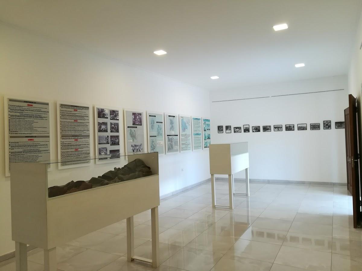 Interno del museo nel Centro Culturale Che Guevara
