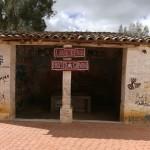 Ex lavanderia dell'ospedale Señor de Malta, Vallegrande. Qui fu esposto Guevara dopo essere stato ucciso