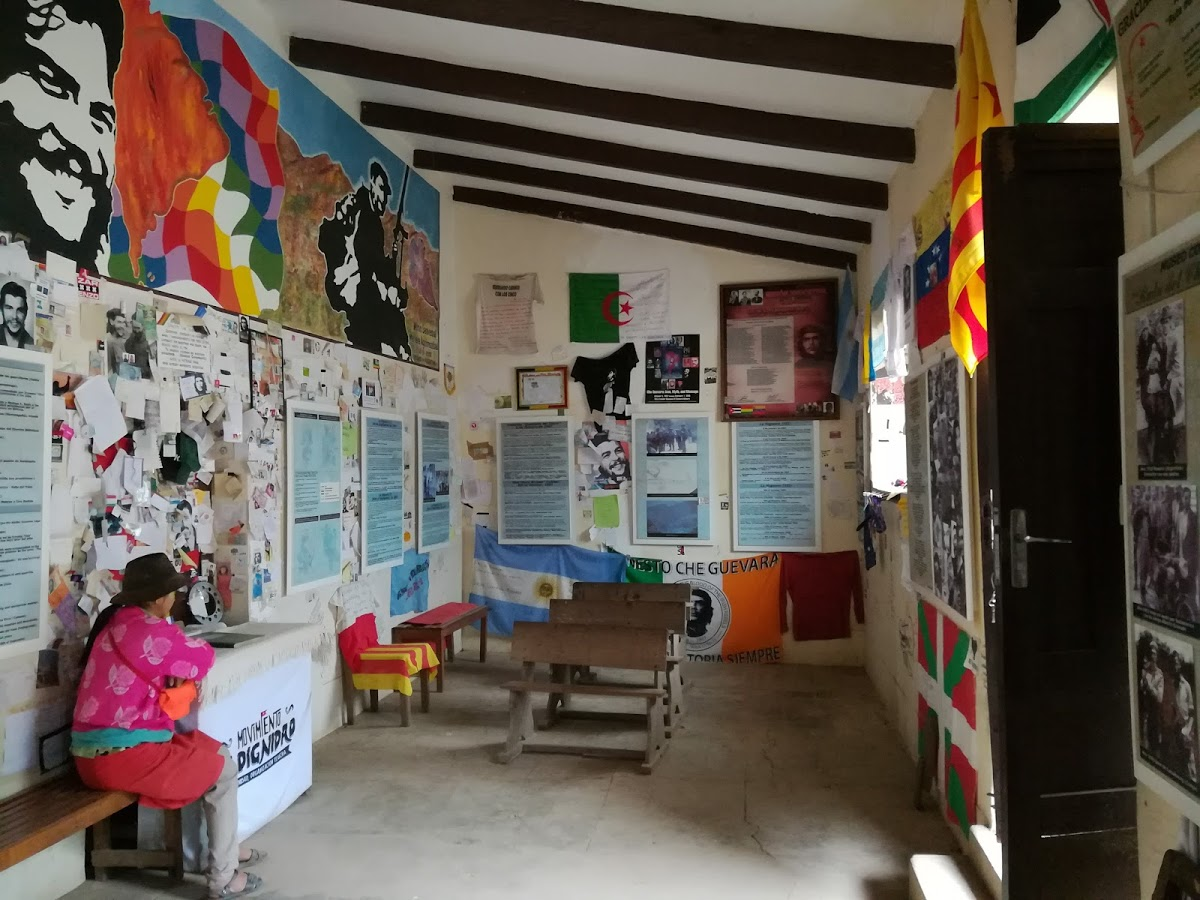 Interni del museo dedicato al Che a La Higuera