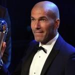 Zinedine Zidane è il miglior allenatore dell'anno