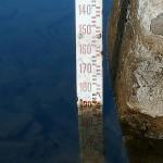 Il livello di Bracciano è -186 centimetri. Rilevazione del 30 settembre, ore 16.
