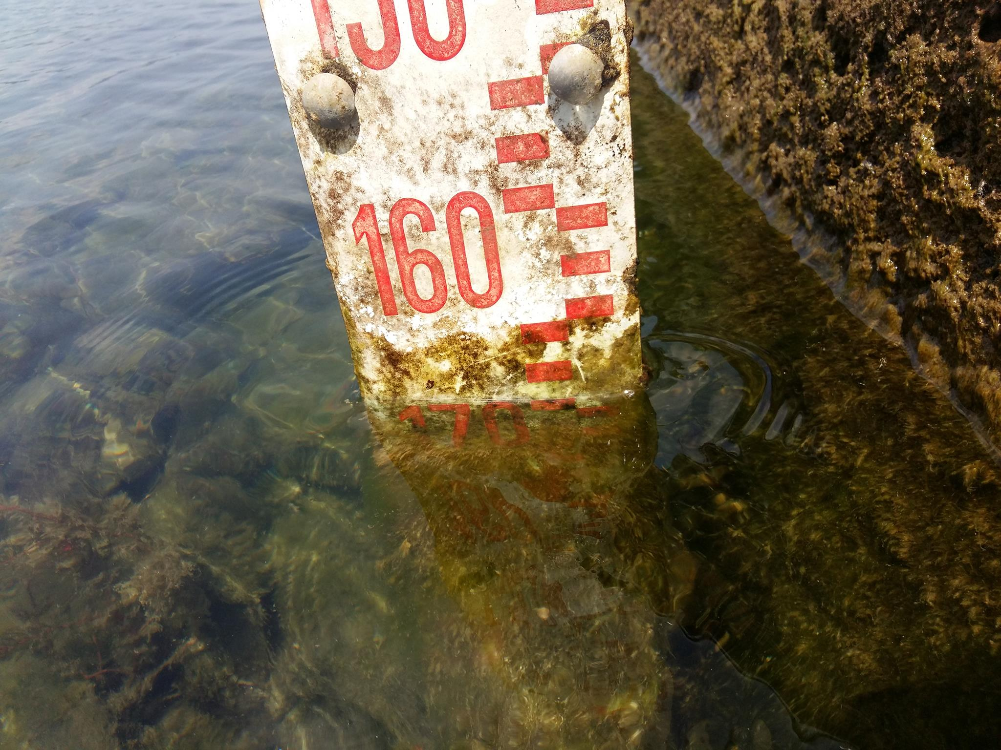 Ma immediatamente il Lago perde livello. Il 22 luglio è a -164 centimetri