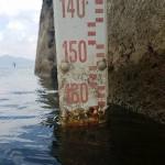 Il 24 luglio è a -165 centimetri. Ha perso un centimetro in due giorni