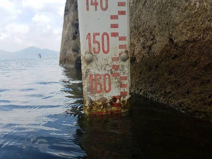Il 29 agosto si registra un piccolo miglioramento: da -172 a -170 centimetri