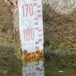 L'8 settembre il Lago sembra molto in sofferenza. Il livello è a -186 centimetri