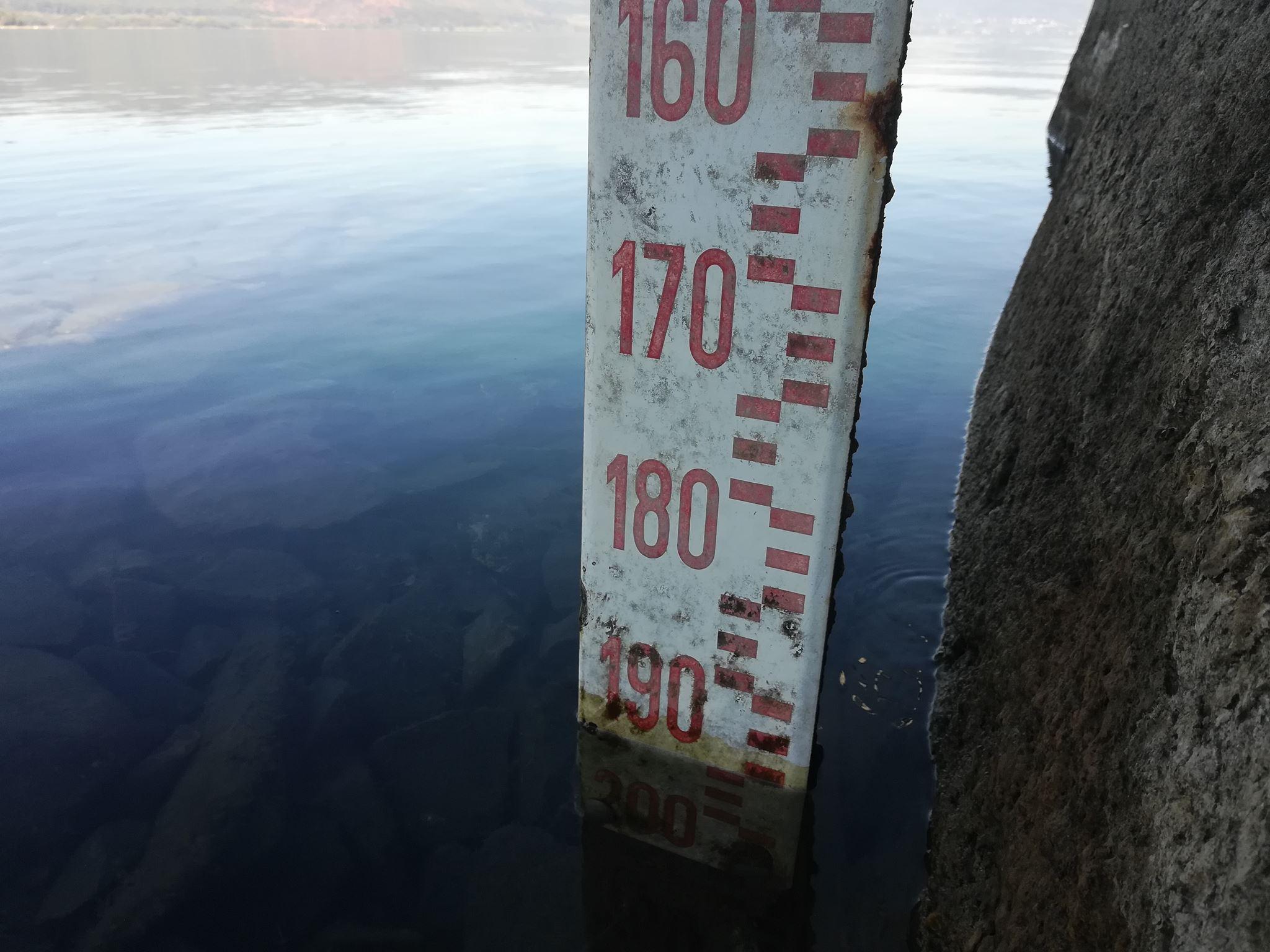 Rilevamento 15 ottobre 2017, ore 13 e 05. Ex Idroscalo degli inglesi, Bracciano. Il livello del Lago è sotto quasi di due metri