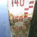 Il 26 giugno, dopo appena tre giorni, è sceso già a -150 centimetri