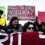 """Ostia, sabato 11 novembre: partito il corteo al grido di """"stop violenza, fascismo e mafia"""""""