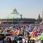 La Basilica di Guadalupe a Città del Messico gremita di pellegrini