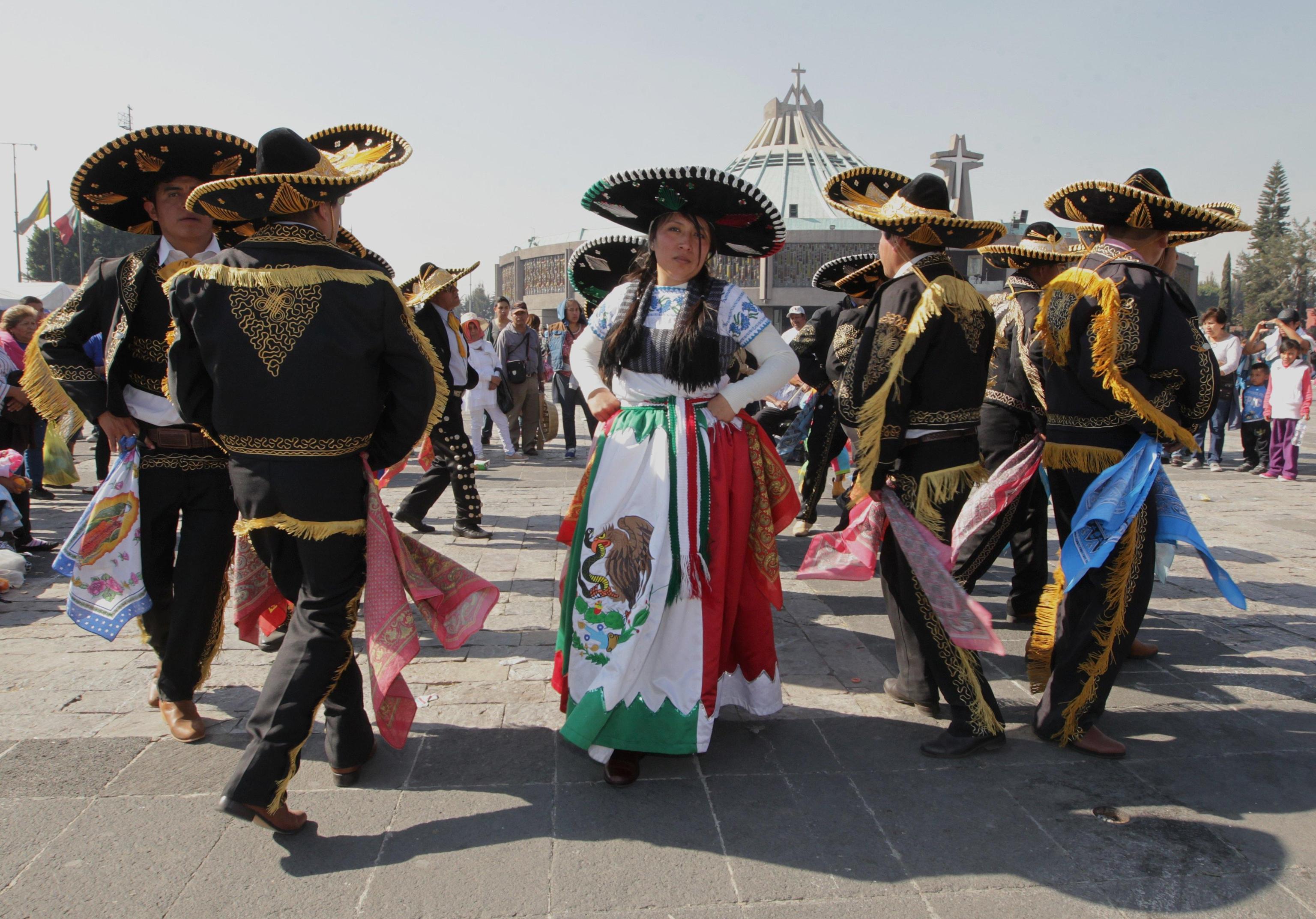 Migliaia di pellegrini giunti alla Basilica di Guadalupe per i festeggiamenti