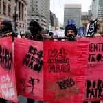 I cartelli della protesta