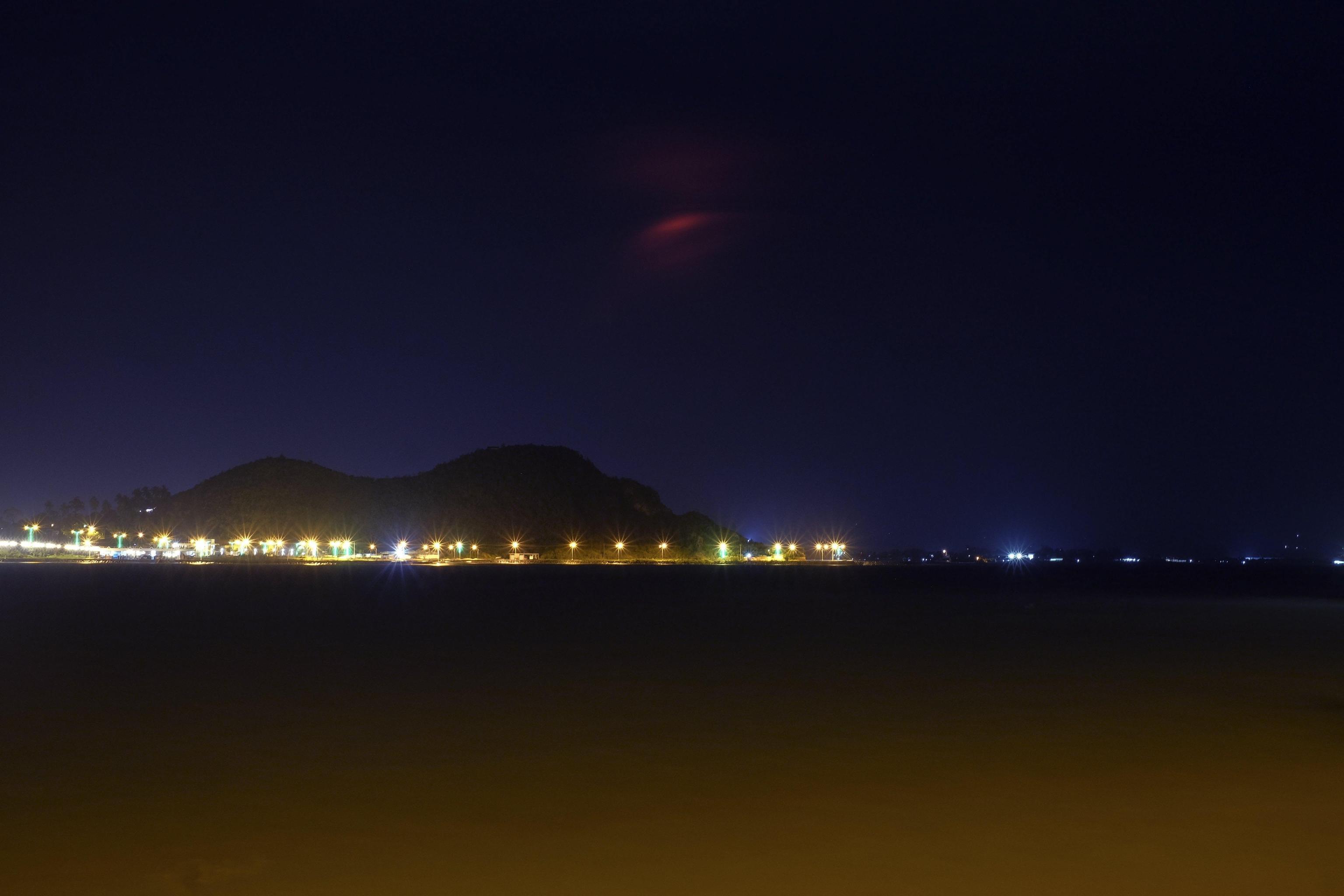 Il Mayon visto dalla città di Legaspi, nella provincia di Albay