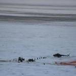 Il momento dell'atterraggio, avvenuto all'alba in una zona remota del Kazakistan, è andato a buon fine, nonostante il rigido inverno