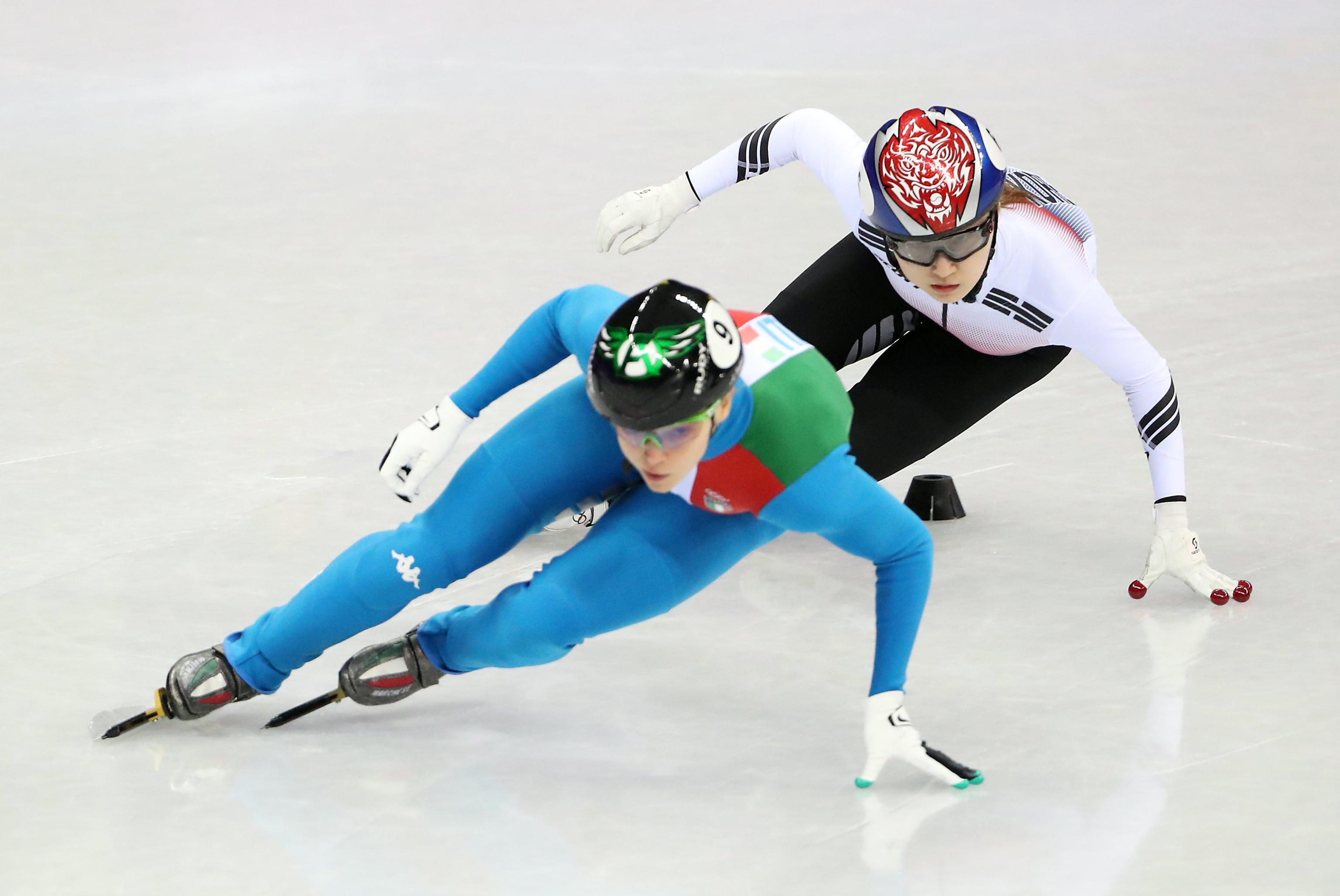 Il duello in finale vinto al fotofinish con la sudcoreana Choi Min-jeong