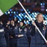 Arianna Fontana è la portabandiera italiana nella cerimonia di inaugurazione