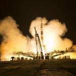 La Soyuz sta per decollare dal cosmodromo di Baikonur, in Kazakistan