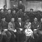 il primo gruppo di cosmonauti nel 1960