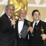 """Mark Weingarten, Gregg Landaker e Gary Rizzo sono i vincitori della statuetta per i migliori effetti sonori in """"Dunkirk"""". Il film ha trionfato anche per il miglior montaggio"""
