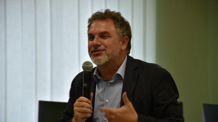 Lirio Abbate, vicedirettore dell'Espresso, ha tenuto un seminario agli studenti del Master sul giornalismo investigativo