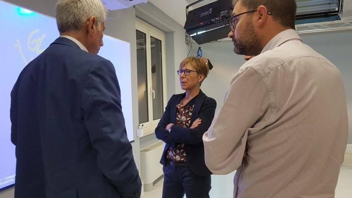 Milena Gabanelli ha ricordato la sua lunga esperienza alla guida di Report e ha sottolineato le potenzialità del data journalism