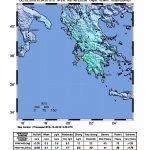 I dati del terremoto del Geological Survey statunitense