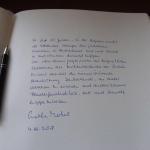 Le parole di Angela Merkel, firmate in data 4 ottobre 2018