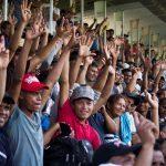 Da pochi giorni, è arrivato in Messico, a Matias Romero, un secondo caravan di migranti. I membri ricevono cibo e assistenza dalle autorità.