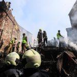 Non sono state riportate vittime fino ad ora nell'incendio che ha distrutto circa 20 baraccopoli a Mumbai