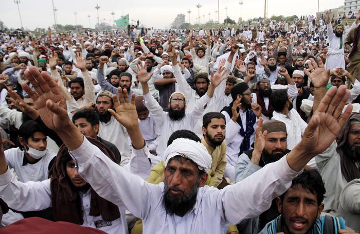 Mobilitazione in Pakistan contro l'assoluzione di Asia Bibi