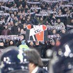 Le forze dell'ordine vigilano sull'atteggiamento dei tifosi tedeschi