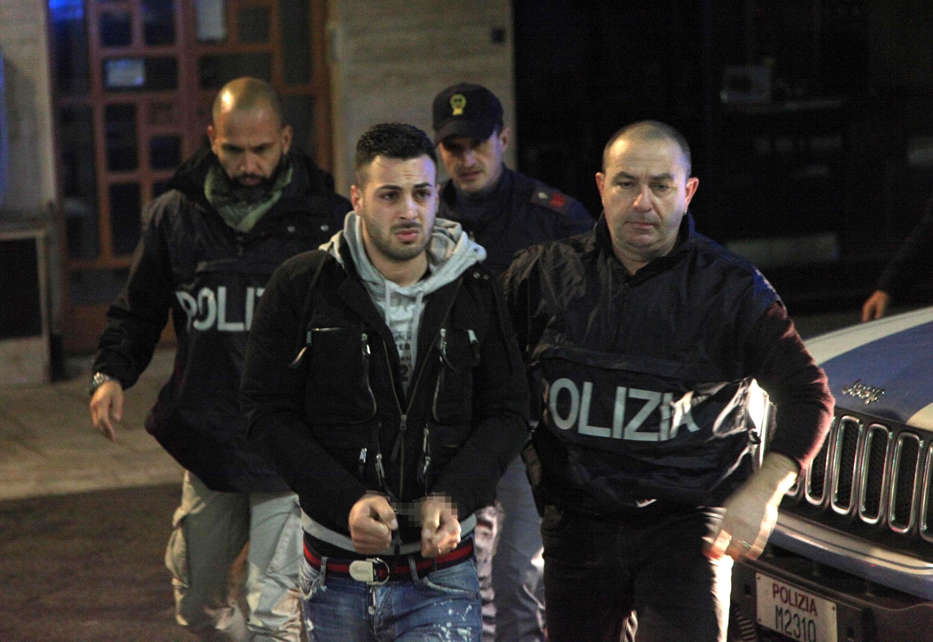 Uno degli arrestati nel corso del blitz internazionale antidroga