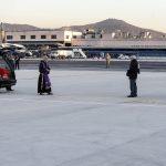 La salma di Antonio Megalizzi è arrivata ieri all'aeroporto di Ciampino