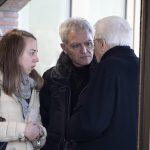 Il padre di Megalizzi e Luana a colloquio con il Presidente della Repubblica