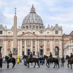 Pastori toscani sfilano a Roma