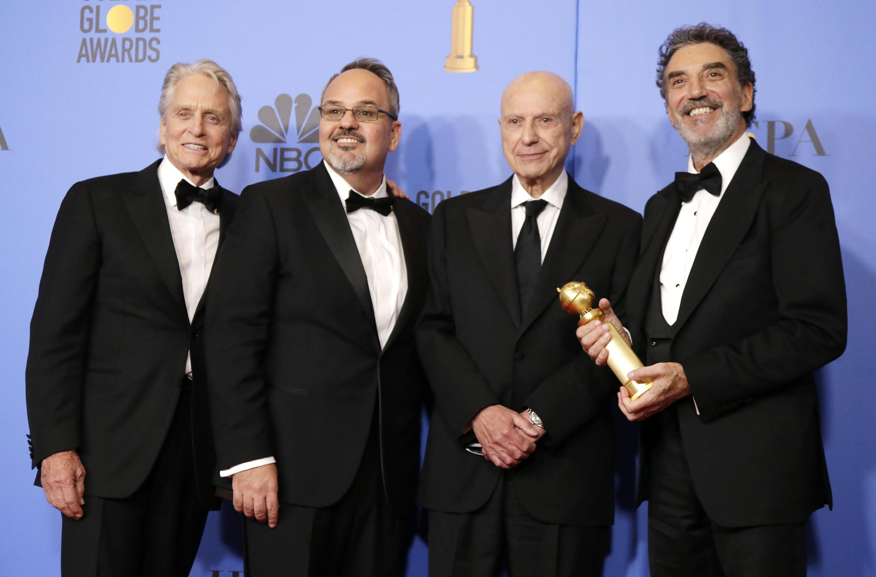 'Il metodo Kominsky' ha vinto il premio come miglior serie tv comedy, Michael Douglas come miglior attore della categoria