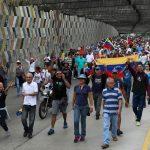 Corteo anti-Maduro a Caracas
