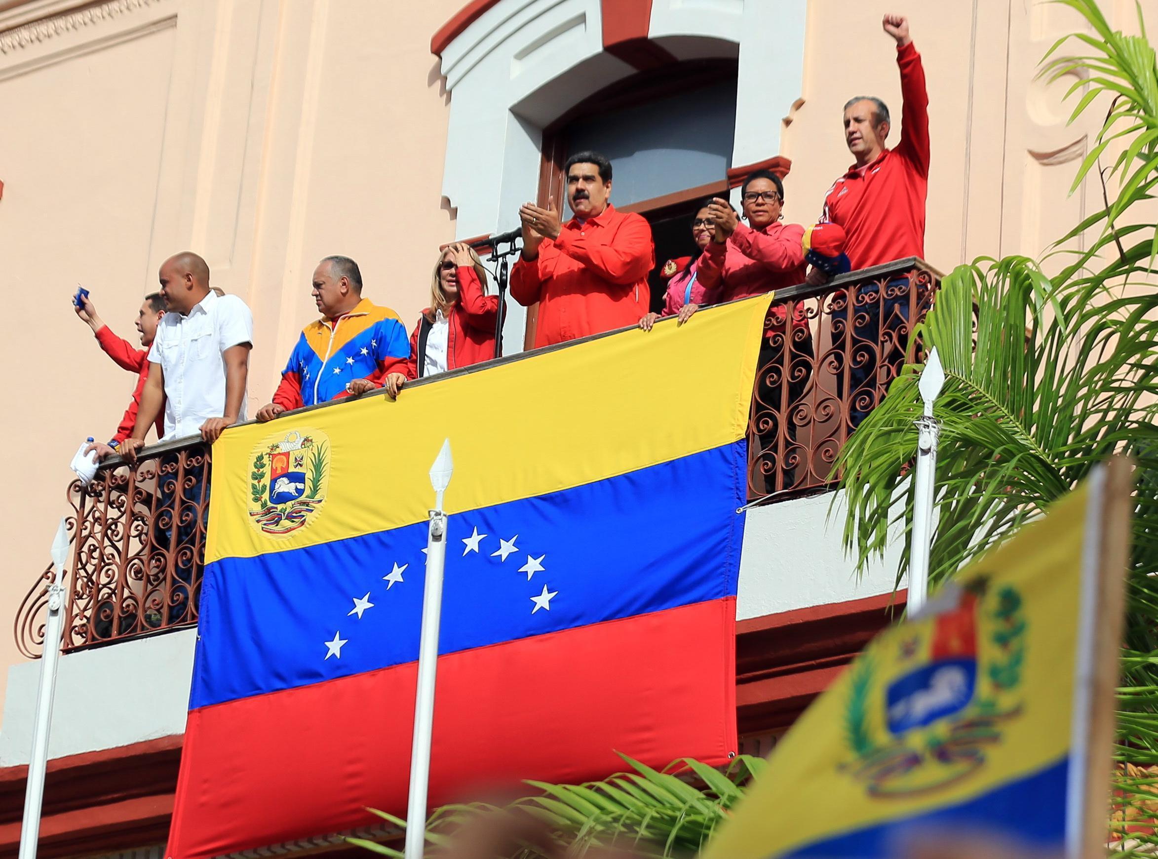 Il Presidente Maduro parla alla Nazione in protesta