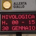 A Genova è allerta gialla per maltempo. Oggi sono previste nevicate