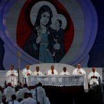 """Il tema della XXXIV Giornata Mondiale della Gioventù è stato scelto da Papa Francesco da un passo del vangelo di Luca: """"Ecco la serva del Signore, avvenga per me secondo la tua parola"""""""