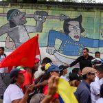 Marcia in supporto di Guaidó
