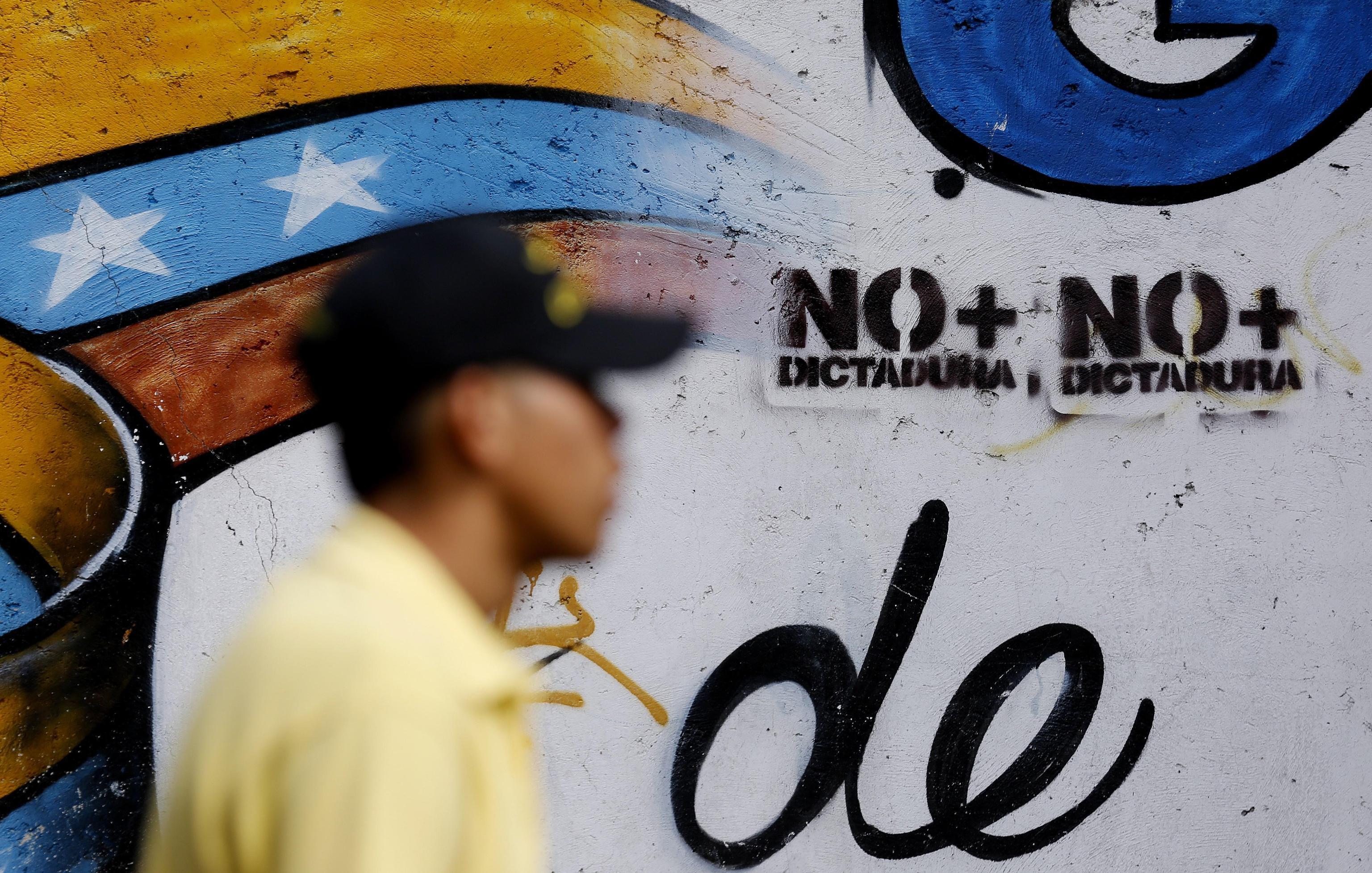 La street art di Caracas contro la dittatura
