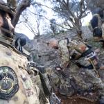 Inizia l'esercitazione del reggimento 185' RRAO, una delle forze speciali dell'Esercito con sede a Livorno