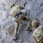 La capacità di superare ostacoli naturali è molto importante nell'addestramento